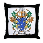Bagnall Coat of Arms Throw Pillow