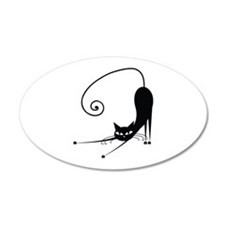 Black Cat Wall Decal