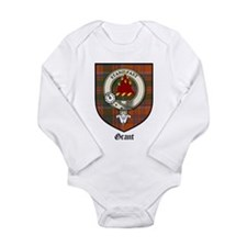Cute Scottish family crest Long Sleeve Infant Bodysuit