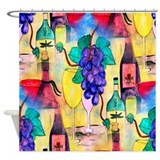 The Grape Escape Shower Curtain