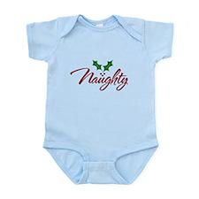 Naughty for Xmas Infant Bodysuit