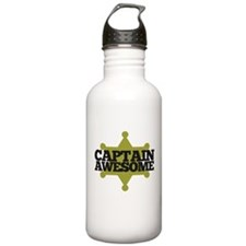 Captain Awesome Water Bottle