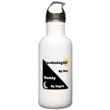 Cardiologist by day Daddy by night Water Bottle