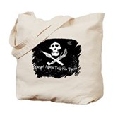 Vanilla Gorilla ink pirate flag Tote Bag