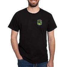 Turning of the Year Logo Black T-Shirt