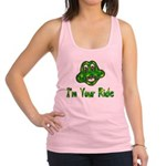 ride_frog01.png Racerback Tank Top