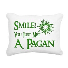 pagan_smile01.png Rectangular Canvas Pillow