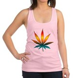weedpeace01.png Racerback Tank Top