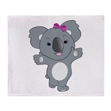 Koala Throw Blanket