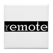 remote tile Coaster