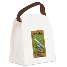 Baritone of Doom Canvas Lunch Bag