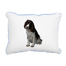 Springer spaniel Rectangular Canvas Pillow