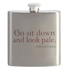 Look Pale Flask