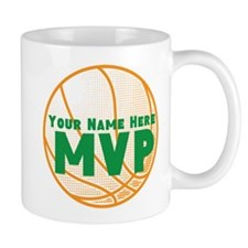 Personalized Basketball MVP. Small Mug
