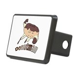 Donut Man Rectangular Hitch Cover