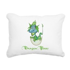 Dragon Baby Rectangular Canvas Pillow