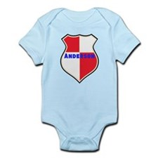 Personalized shield Infant Bodysuit