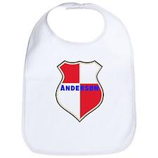Personalized shield Bib