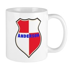 Personalized shield Mug