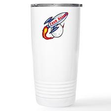 Personalized rocket Travel Mug