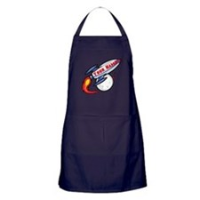 Personalized rocket Apron (dark)