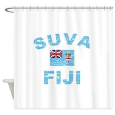Suva Fiji Designs Shower Curtain
