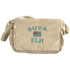 Suva Fiji Designs Messenger Bag