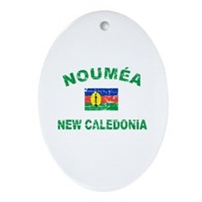 Noumea New Calidonia Designs Ornament (Oval)