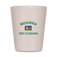 Noumea New Calidonia Designs Shot Glass