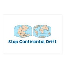 Stop Continental Drift Postcards (Package of 8)