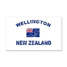 Wellington New Zealand Designs Car Magnet 20 x 12