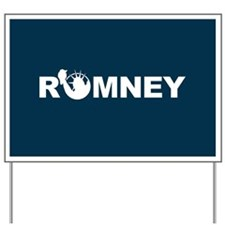 Romney for Liberty Yard Sign