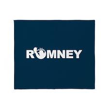 Romney for Liberty Throw Blanket