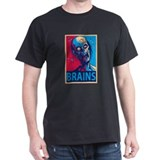 Obama Zombie Brains T-Shirt