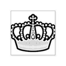 "Crown Square Sticker 3"" x 3"""