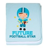 Future Football Star baby blanket