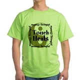 Touch Heals Green T-Shirt