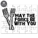 Forks Be With You Puzzle