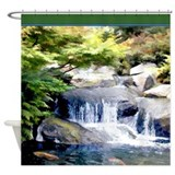 Japanese Garden Waterfall and Koi Pond.jpg Shower