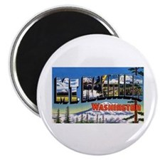 Mt Rainier Washington Magnet