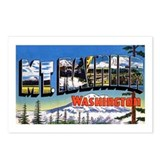 Mt Rainier Washington Postcards (Package of 8)