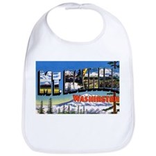 Mt Rainier Washington Bib