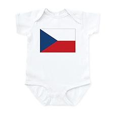 Czech Flag Infant Bodysuit