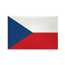 Czech Flag Rectangle Magnet (100 pack)