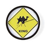 Camel Crossing Wall Clock
