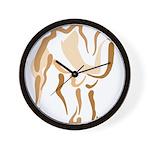 Stylized Camel Wall Clock