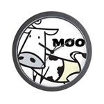 Moo Cow Wall Clock