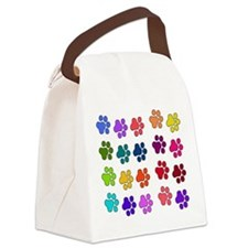 rainbowpaws01.png Canvas Lunch Bag