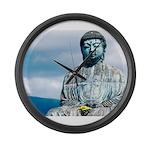 Buddha Large Wall Clock