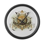 Stylish Om Large Wall Clock
